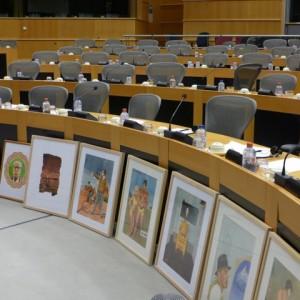 Installation im Sitzungssaal EP